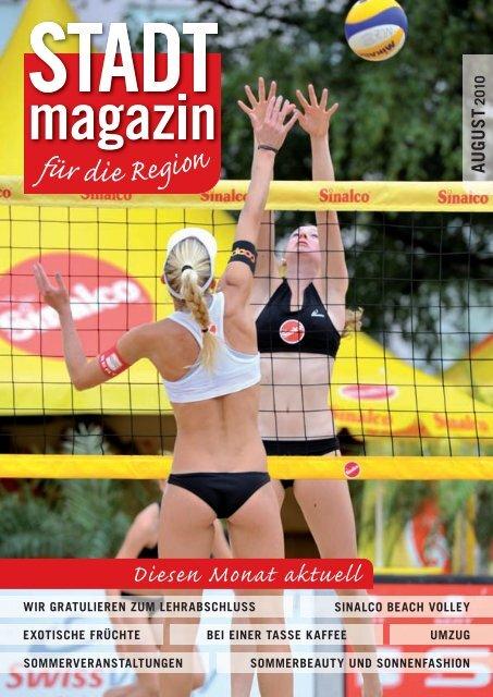 Ausgabe August 2010 - STADTmagazin Rapperswil-Jona