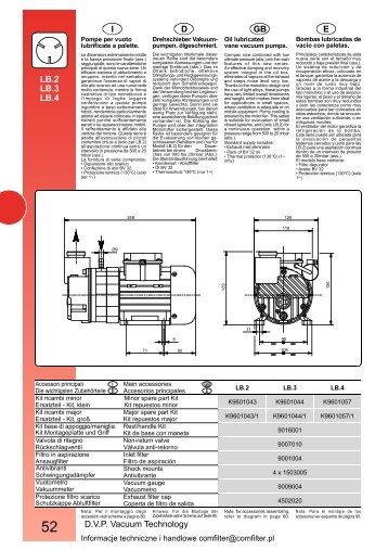 Dvp Vacuum Technology E Gb Di Lb 2 Lb 3 Lb 4 Vacuum