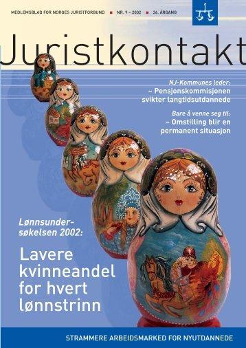 Juristkontakt 9 - 2002
