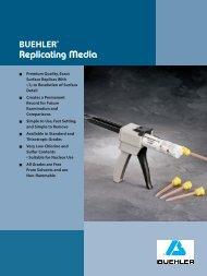 BUEHLER® Replicating Media