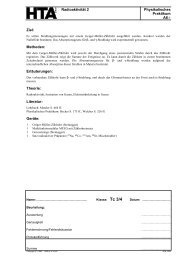 Radioaktivität 2 Physikalisches Praktikum A6-1 Ziel ... - hknoll.ch