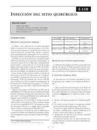Infecciones del sitio quirúrgico y su prevención. - sacd.org.ar
