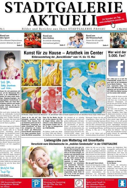 Kunst für zu Hause – Artothek im Center - Stadtgalerie Passau
