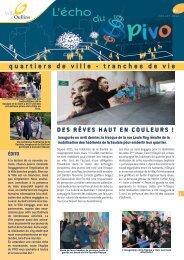 L'écho du PIVO n°7 (juillet 2013) - Ville d'Oullins