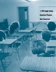 1,000 page essay Quantum Physics Due Tomorrow - Lebanon High