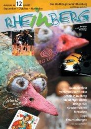Stadtmagazin Rheinberg • Ausgabe Nr.12
