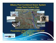 Albany Pool Combined Sewer System Long Term Control Plan