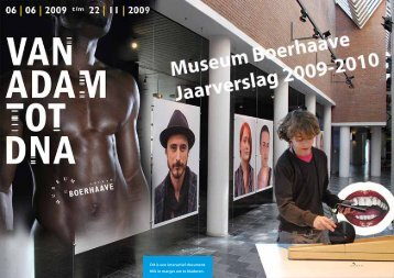 Jaarverslag 2009-2010 - Museum Boerhaave