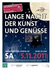 Langen Nacht der Kunst und Genüsse - Stadtteil-Portal Mannheim