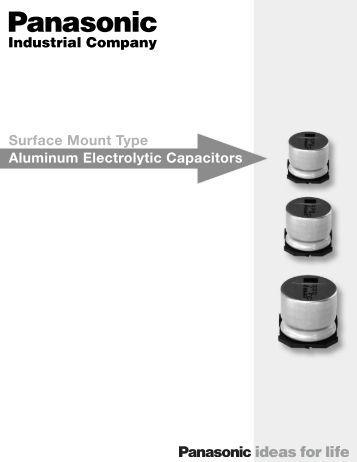 panasonic electrolytic capacitor selection guide