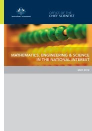 mathematics, engineering & science in the national interest