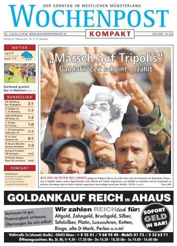 """Nach 19 Jahren """"Marsch auf Tripolis"""""""