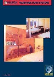 WARDROBE DOOR SYSTEMS - Ullrich Aluminium