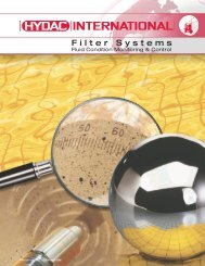Filter Systems - HYDAC USA