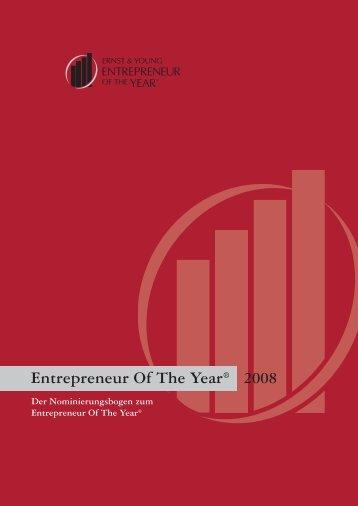 Entrepreneur Of The Year® - Schweiz