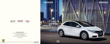 Honda Civic - Groupe Courtois