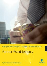 Partner Przedsiębiorcy - Aviva