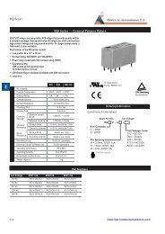 RQ Series RQ Series — General Purpose Relays - Iberica de ...