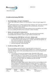 Kvalitetsredovisning 2005/2006 - Sundsvall