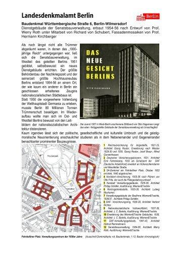 Flyer Wü 6-1 - Senatsverwaltung für Stadtentwicklung