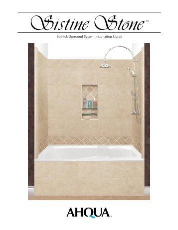 Bathtub Surround System Installation Guide - American Bath Factory