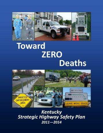 Kentucky Strategic Highway Safety Plan 2011-2014