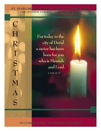 December 23, 2012 - St Margaret Mary Parish