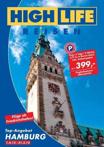 Top-Angebot HAMBURG 1.4.12 - 31.3.13 - Highlife Reisen: Startseite