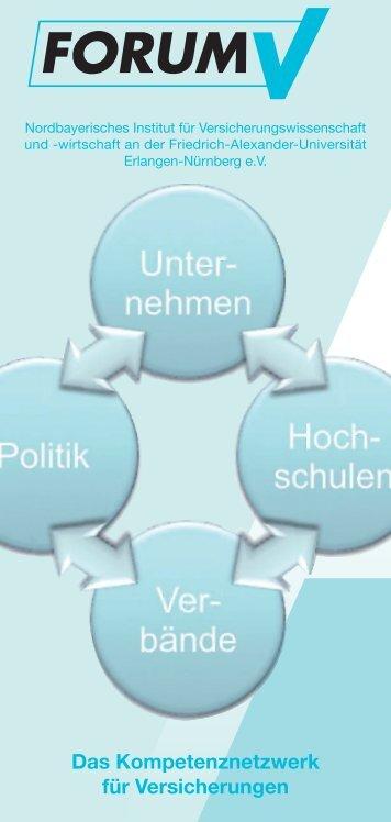 Das Kompetenznetzwerk für Versicherungen - Forum V