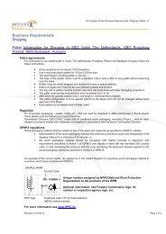 Pallet Information - Supplier Portal
