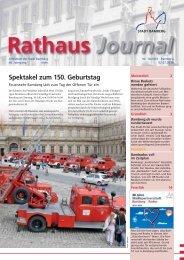 Rathaus Journal Nr. 14 vom 02.07.2010 - Stadt Bamberg