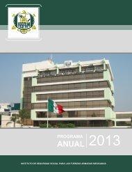 Programa Anual ISSFAM 2013.