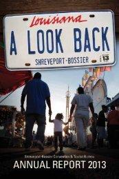 SBCTB Annual Report 2013 - Shreveport