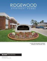 BLOUNT PROPERTIES - Property Line