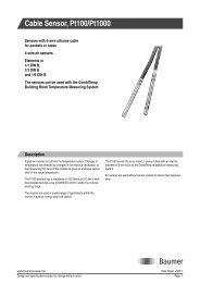 Cable Sensor, Pt100/Pt1000 - Merx AS