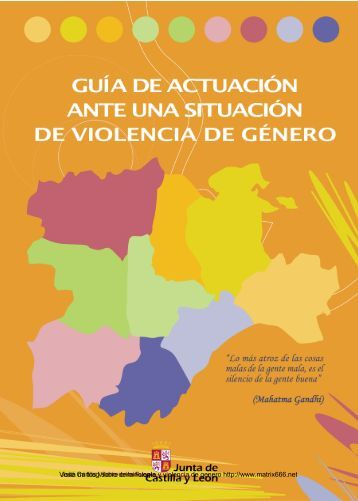Protocolo de actuación de la Junta de Castilla y León ... - Matrix666