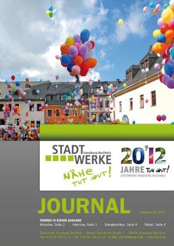 Ausgabe 03/2012 - Stadtwerke Annaberg-Buchholz