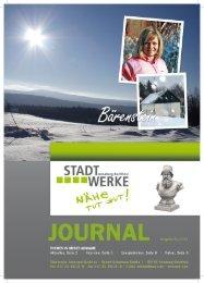 Ausgabe 01/2012 - Stadtwerke Annaberg-Buchholz