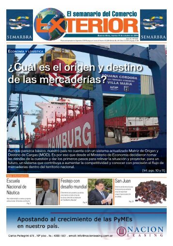 Edición N° 622 - El semanario del Comercio Exterior