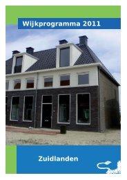 Zuidlanden Wijkprogramma 2011 - Gemeente Leeuwarden