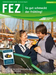 FEZ So gut schmeckt der Frühling! - Stadtwerke Flensburg GmbH