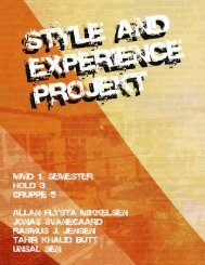 Style & Experience Projekt (.pdf)