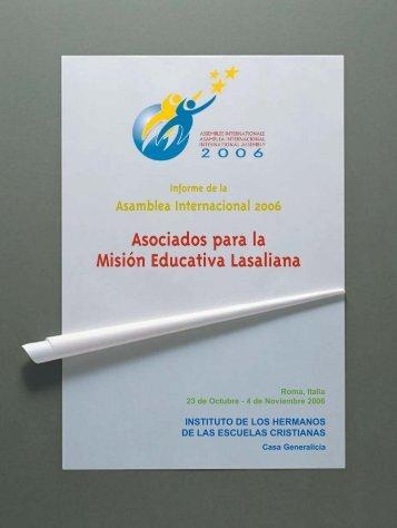 Asociados para la Misión Educativa Lasaliana - Hermanos de las ...