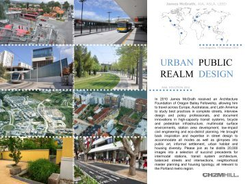 URBAN REALM PUBLIC DESIGN - Rail~Volution