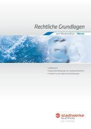 Wasser Rechtliche Grundlagen - Stadtwerke Buchholz