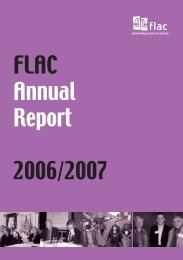 FLAC Annual Report 2006/2007