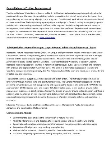 Clench Fraud Trust General Manageru0027s Job Description