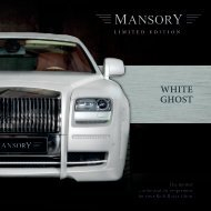 WHITE GHOST - Mansory