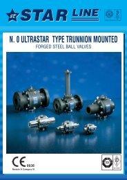 0 Ultrastar Type Trunnion Mounted - Process Valve Solutions Ltd