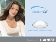 The choices for breast augmentation are changing. - Mentor ...